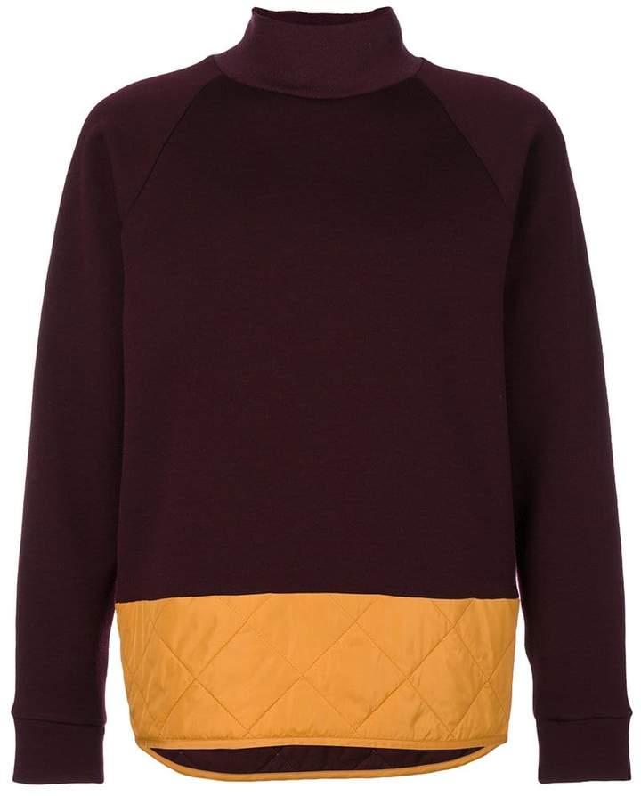 Marni quilted detail sweatshirt
