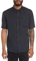 Vince Men's Trim Fit Linen Sport Shirt