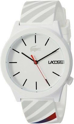 Lacoste Men's 2010935 Motion Analog Display Quartz White Watch