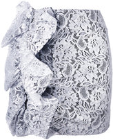 MSGM lace mini skirt - women - Polyamide/Polyester/Spandex/Elastane/Viscose - 38