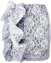 MSGM lace mini skirt - women - Polyamide/Polyester/Spandex/Elastane/Viscose - 40