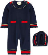 Gucci Woollen playsuit and matching hat