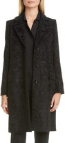 Max Mara Oncia Textured Alpaca & Wool Coat