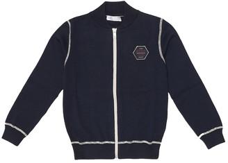 BRUNELLO CUCINELLI KIDS Cotton-knit cardigan