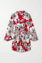 Stine Goya Jacob Floral-print Silk-crepe Mini Dress