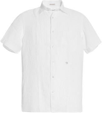 Massimo Alba Textured Cotton Button-Down Shirt