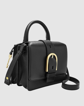 Fossil Wiley Black Tote