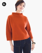 Chico's Cashmere Ribbed Sweater