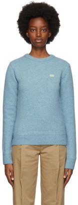 Ader Error Blue Teit Sweater