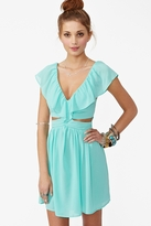 Nasty Gal Lost Without You Dress - Mint