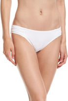 Tommy Bahama Pearl Shirred-Side Solid Hipster Swim Bottom