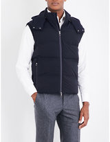 Lardini Quilted Shell Gilet