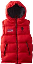 U.S. Polo Assn. U.S. Polo Association Boys 8-20 Double Quilted Puffer Vest