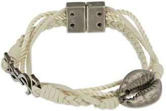 Saint Laurent Wrap Leather Bracelet