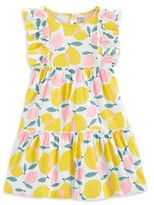 Carter's Child Of Mine By Child Of Mine Baby Toddler Girl Sleeveless Lemon Print Dress