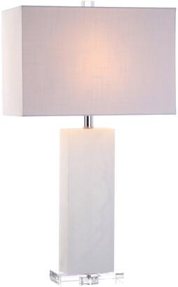 Jonathan Y Designs Tiggie 27In Alabaster Table Lamp