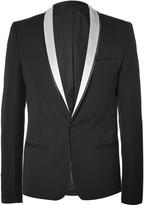 Haider Ackermann - Black Slim-fit Wool Tuxedo Jacket