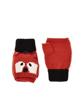 Forever 21 FOREVER 21+ Fox Graphic Convertible Mittens