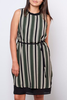 Everly Striped Shift Dress