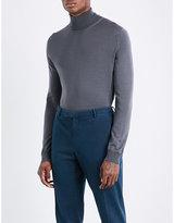 Boglioli Turtleneck Knitted Wool Jumper