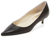Butter Shoes Petunia Leather Kitten Heel