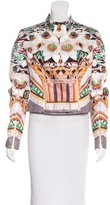Mary Katrantzou Silk Printed Jacket w/ Tags