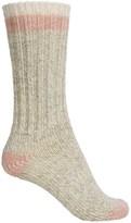 Woolrich Tipped Heavy Ragg Socks - Merino Wool, Crew (For Women)