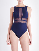 Jets Aspire mesh panel swimsuit