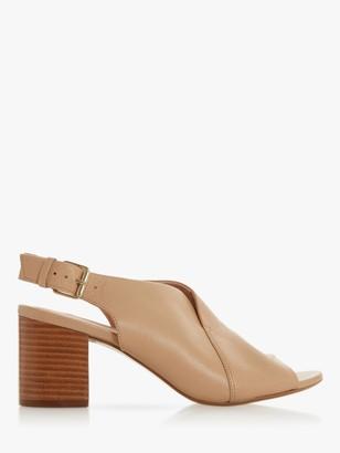Dune Ignus Block Heel Slingback Sandals