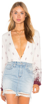 The Jetset Diaries Enija Surplice Top
