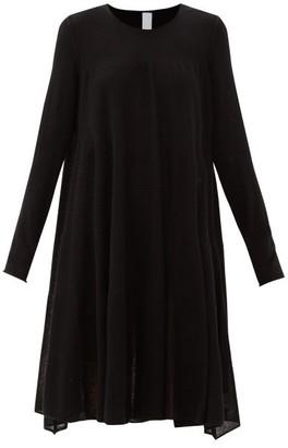 Merlette New York Addison Relaxed Cotton-blend Knitted Dress - Black