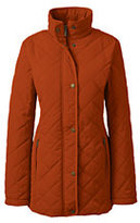 Lands' End Women's Petite PrimaLoft Parka-Dark Ginger Spice
