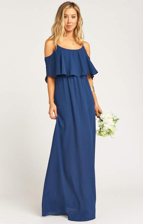 02c4cf614f21a Maxi Dress With Ruffle Bottom - ShopStyle