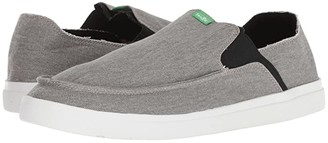 Sanuk Pick Pocket Slip-On Sneaker (Grey) Men's Slip on Shoes