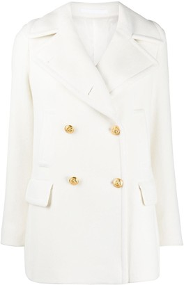 Tagliatore Blanched double-breasted blazer
