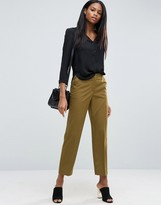 Asos Mid Rise Tailored Pants