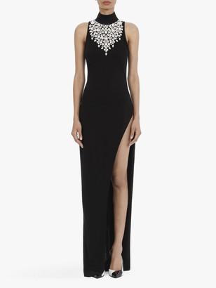 Balmain Long black dress