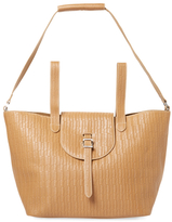 Meli-Melo Thela Large Woven Leather Satchel