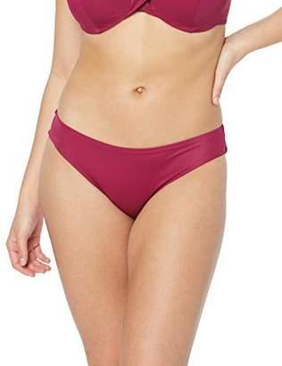 Iris & Lilly Women's Hipster Bikini Bottoms,(Size:L)