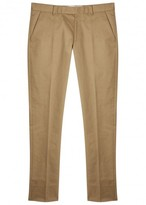 Paul Smith Mayfair Sand Cotton Twill Chinos
