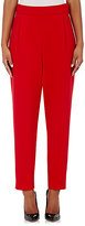 Lisa Perry Women's Pleat-Front Pants-RED