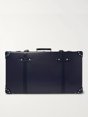 "Globe-trotter 30 Leather-Trimmed Trolley Case"" - Men - Blue"