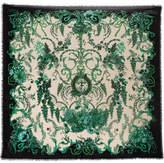 Fendi Printed Silk And Wool-blend Scarf