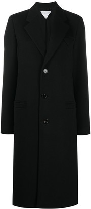 Bottega Veneta Wool Tailored Single-Breasted Coat