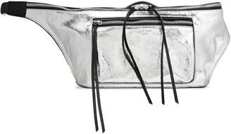 Rag & Bone Metallic Leather Belt Bag