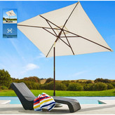 Coolaroo 10' x 7' Rectangular Market Umbrella