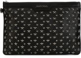 Jimmy Choo 'Derek' clutch - men - Calf Leather/Leather/Metal (Other) - One Size