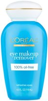 L'Oreal Eye Makeup Remover, 100% Oil-Free