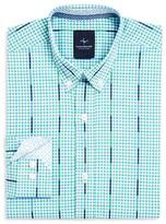Tailorbyrd Boys' Check & Stripe Shirt - Sizes 8-18
