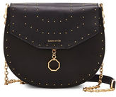 Louise et Cie Jael Studded Leather Saddle Bag